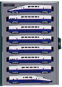 Kato-10-1427-E4-Serie-Shinkansen-Maximo-Toki-8Car-Juego