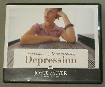 UNDERSTANDING & OVERCOMING DEPRESSION - Joyce Meyer - 4 CD ...