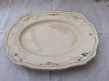 """Alfred Meakin post 1945 Square platter 12"""" gold swags Green ring off edge MEA278"""