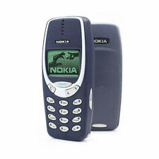Unlocked Original Nokia 3310 Refurbished Phone Dark Blue GSM FREE UK DELIVERY