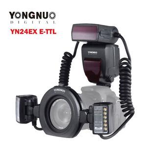YONGNUO-YN24EX-E-TTL-LED-Macro-Flash-Speedlite-Lens-Light-for-Canon-DSLR-Camera