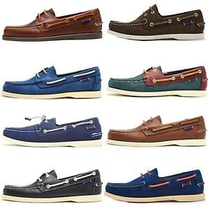 952500690a228 Sebago Docksides NBK Suede Boat Deck Shoes in Navy Blue & Coral ...
