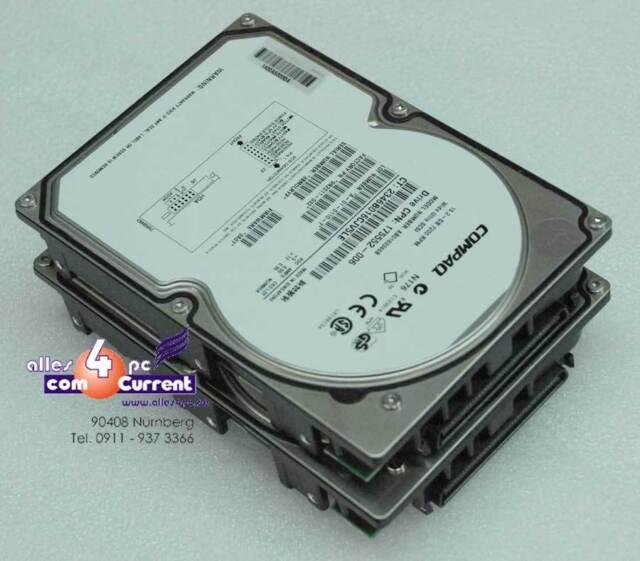 18 GB COMPAQ AB0183346B 9N2011-032 175552-006 80-PIN SCSI FESTPLATTE #K1800
