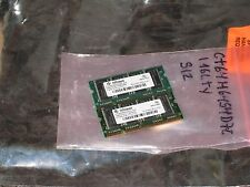 2X512= 1GB  DDR  333   PC-2700  200PIN 8CHIPS  Laptop  RAM SODIMM  HI DENSITY