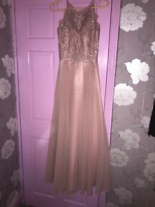 rose pink prom dress from Sonique