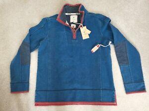 Fatface-Airlie-Sweatshirt-Size-034-L-034-1-4-zip-BNWT