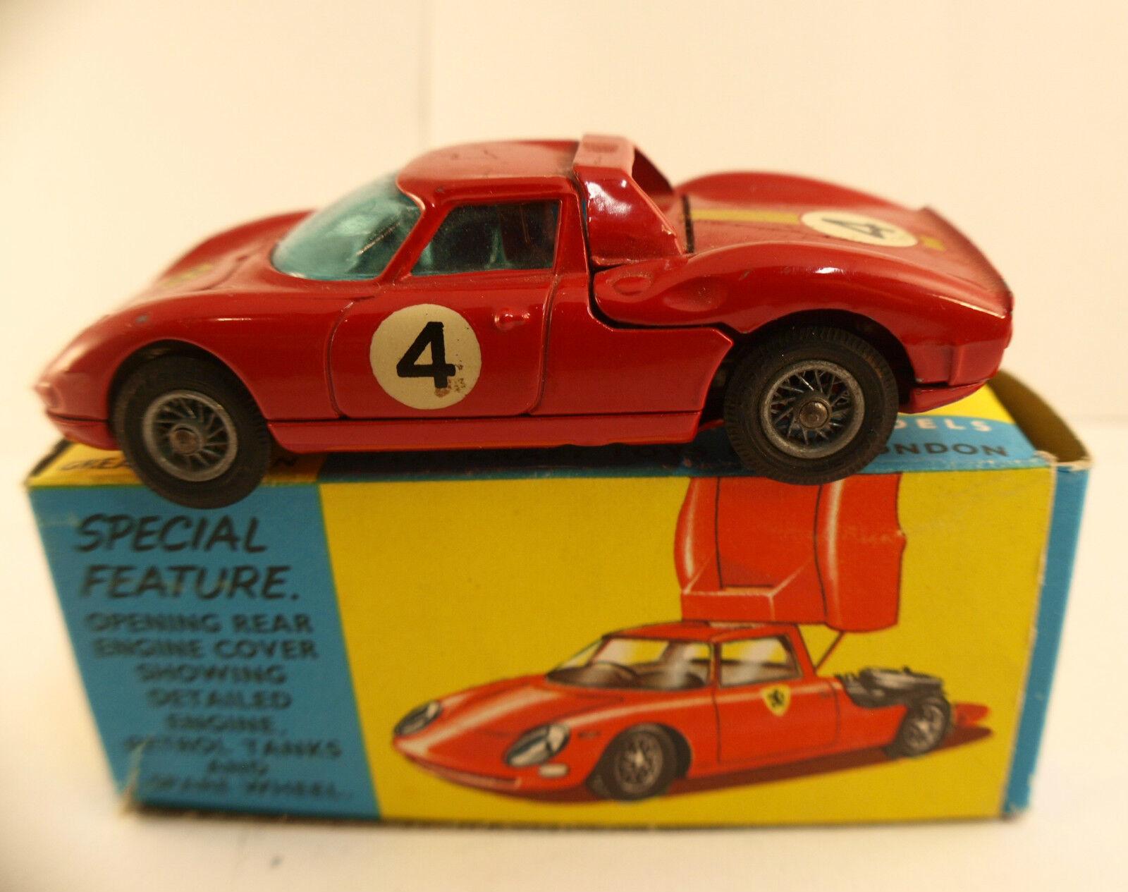 Corgi No. 314 Ferrari Berlinetta 250 the Mans in Box 1965