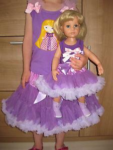 Ensemble de poupée fille, 46-50cm, taille 122, 5-7 ans, vetements