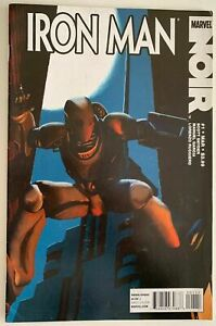 IRON-MAN-NOIR-1-7-0-VERY-FINE-MARVEL-Comics-2010