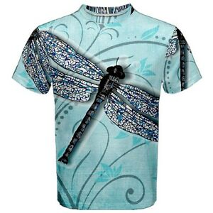 f99a9818a734c Details about New Dragonfly Design Sublimated Men's Sport Mesh T-Shirt  XS-3XL Free Shipping