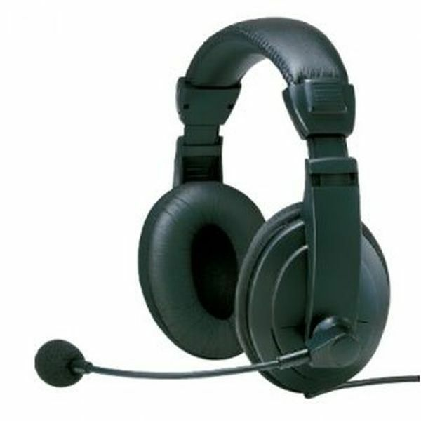Micro Casque Ajustable Stereo Pro Heden Avec Microphone Flexible