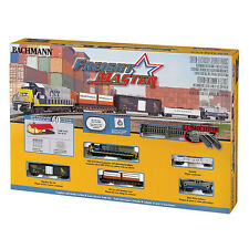 Bachmann Trains Freightmaster N Scale Ready-To-Run 60-Piece Train Set | 24022-BT
