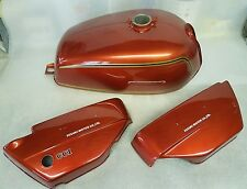 SUZUKI GT250A 1976 MODEL TANK AND SIDE PANELS FULL PAINTWORK DECAL KIT
