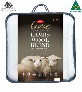Tontine Luxe Australian Lambswool Blend High Warmth Doona|Duvet|Quilt-All Sizes