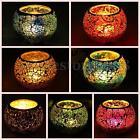Mosaic Glass Candlestick Candle Holder Candelabra Romantic Home Wedding Decor