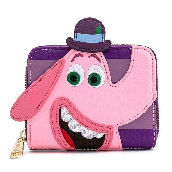 Loungefly x Pixar Inside Out Bing Bong Cosplay Zip-Around Wallet