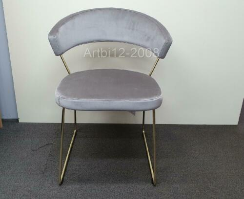 Connubia by Calligaris New York Velvet Dining Chair, Sand RRRP£329 (3357)