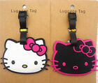 Cute Hellokitty Silicone Luggage Tags ID Card Holder Case ly-C59WB