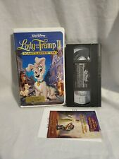 Lady And The Tramp Ii Scamp S Adventure Video Cd Movie 2 Disc Disney Vcd Import For Sale Online
