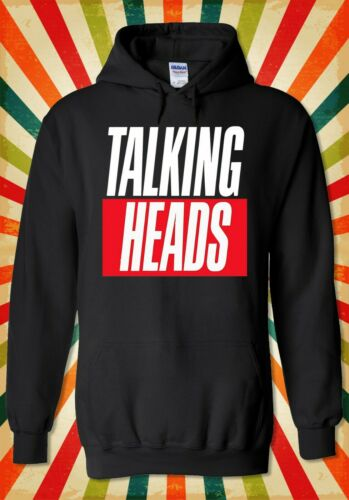Talking Heads Punk Rock Retro Cool  Men Women Unisex Top Hoodie Sweatshirt 2210