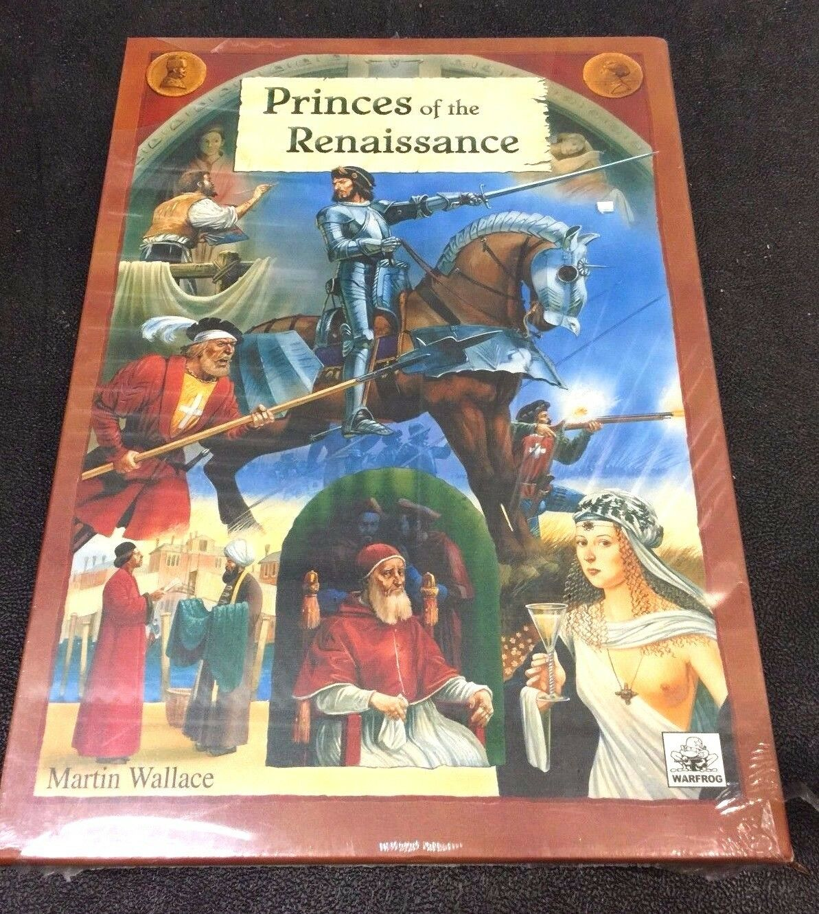 Princes of Renaissance by Martin Wallace Warfrog Games Shrink Wrapped Nuovo SEALED