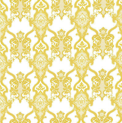 Dolls House Wallpaper 1/12th 1/24th scale Cream Quality Paper #78
