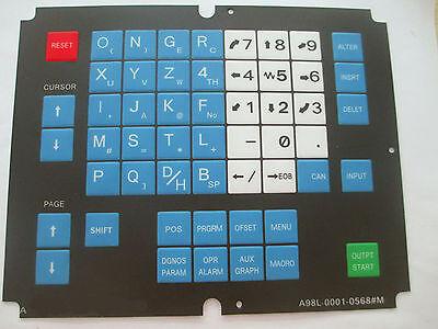 1pc FANUC Membrane Operator Keypad A98L-0001-0568#M