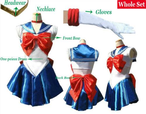 Sailor Moon Sailor Chibi Moon//Chibiusa//Rini Uniform Cosplay Clothing Costume 10