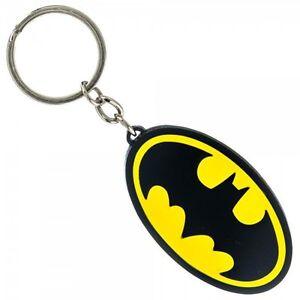 DC-Comics-Batman-Logo-Metal-Keychain-Officially-Licensed-Dark-Knight-Symbol-NEW