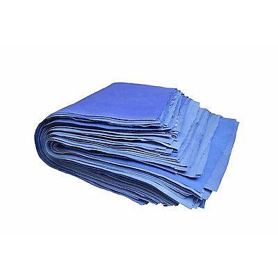 2kg Putzlappen Reinigungstücher 100% Baumwolle Geschirrtuch Küchentuch Blau