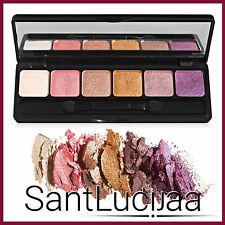 E.L.F ELF PRISM EYESHADOW PALETTE 6 PC - ULTRA SILKY, BAKED, GIFT MAKEUP