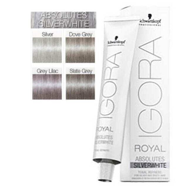 520c037efb Schwarzkopf Silverwhite Igora Royal Dove Grey 60ml for sale online ...