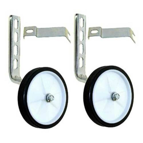 "Training Wheels Plastic 12-20/"" Silver Bike"