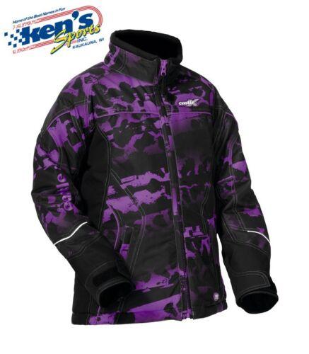 CASTLE X Youth Girls Purple TWIST-13 SE VIVID Winter Snowmobile Jacket 70-313/_