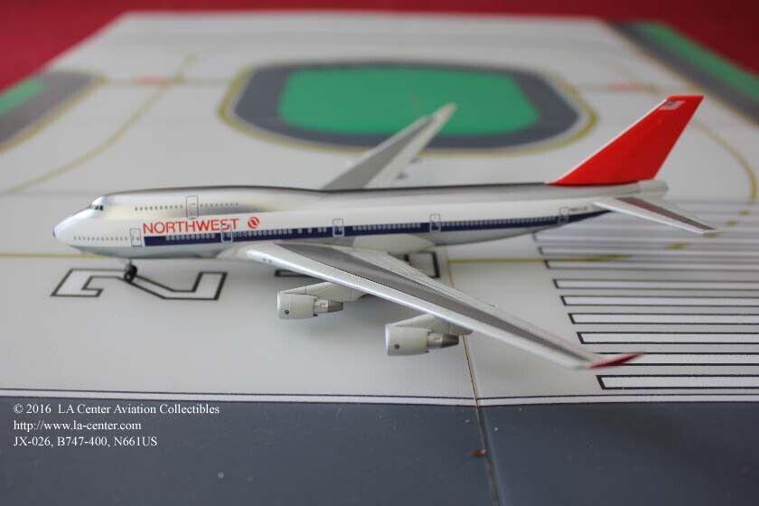 Dragon Wings Jet-x Northwest Airlines Boeing 747-400 couleur originale modèle 1 400