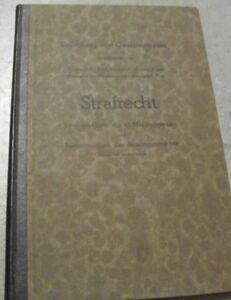 Sammlerstueck-STRAFRECHT-Hamburger-Notausgabe-BESATZUNGSMACHTE-Kontrollrat-1948