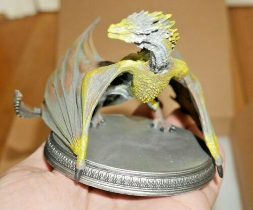 NEW BOXED EAGLEMOSS GAME OF THRONES OFFICIAL COLLECTORS MODEL VISERION DRAGON