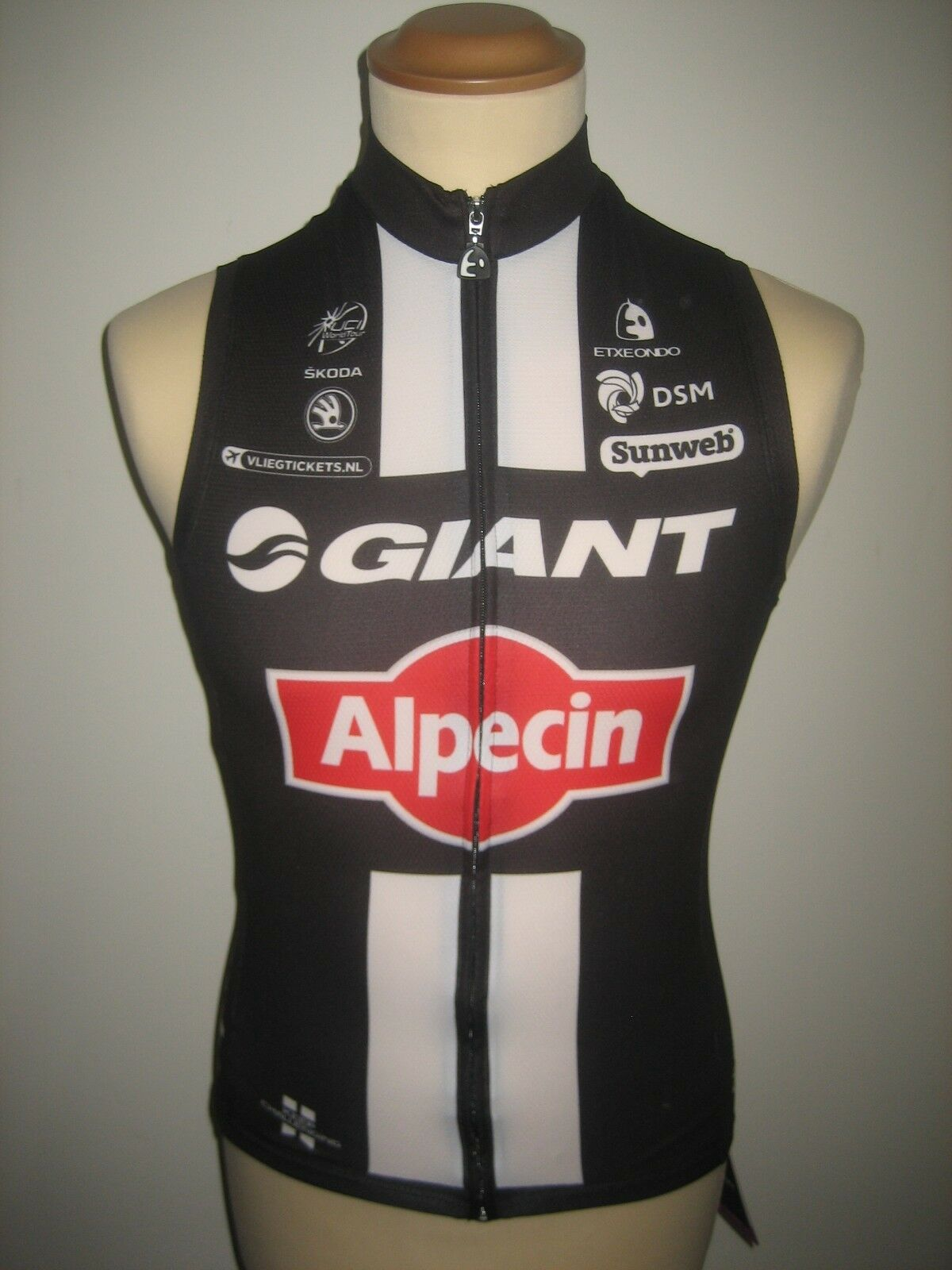 Giant Alpecin ISSUED for LARS VAN DER HAAR ciclismo jersey shirt maillot Diuominiione S