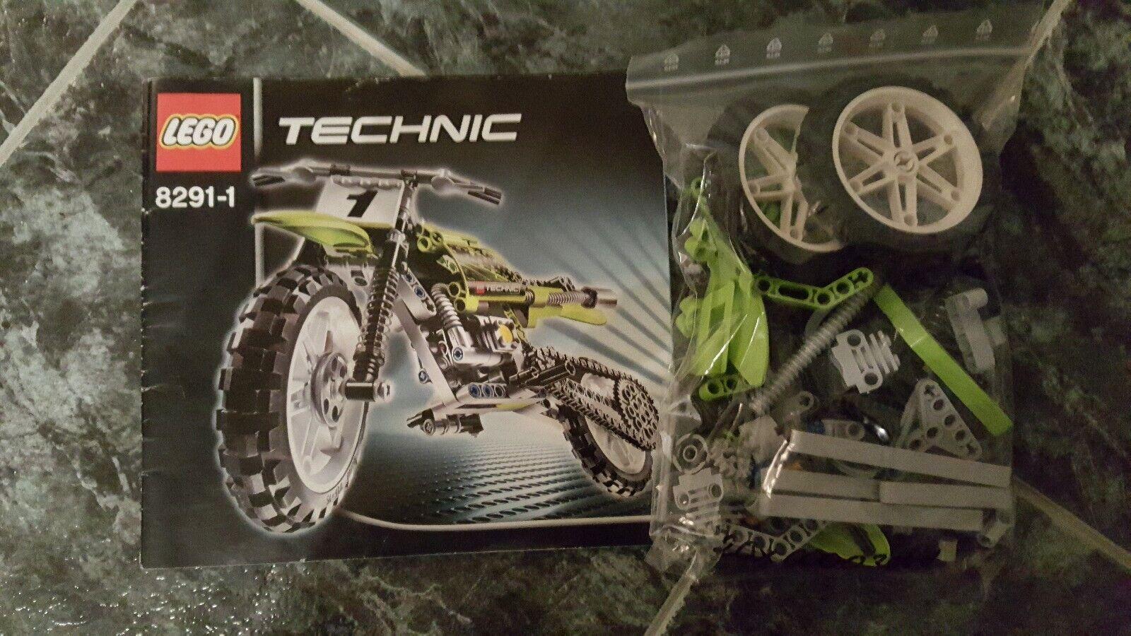 Lego 8291 - Technic - Motocross Bike komplett gebraucht