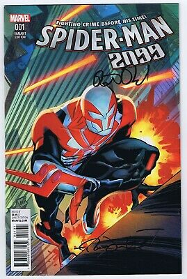 SPIDERMAN 2099 #1 MARVEL 2015 1:25 LEONARDI VARIANT COVER