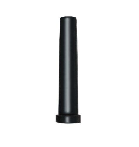 100 St cable protección antitorsión knickschutztülle PVC blando negro f cable 8mm außendm