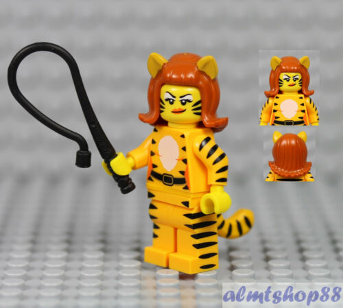 Tiger Woman Minifigure 71010 Collectible CMF Halloween LEGO Series 14