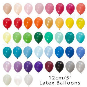 60-COLOURS-BULK-100-PACK-12CM-5-034-MINI-LATEX-BALLOONS-BIRTHDAY-PARTY-WEDDING