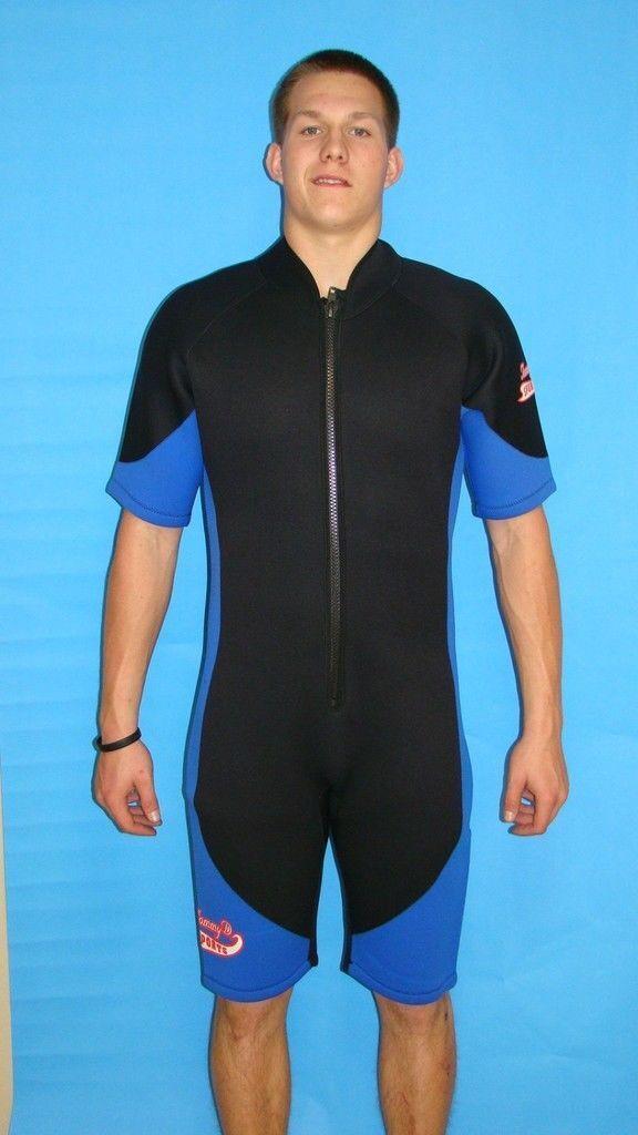 Wetsuit 3MM Large Mens Shorty   Scuba Snorkel Dive Surf  low-key luxury connotation