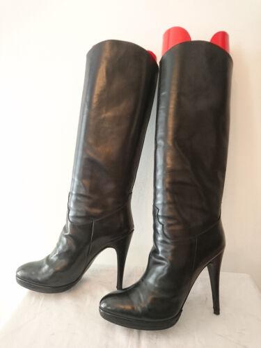 """Boots Vintage """" Black """" 1980 - CITY 55 Paris T.36,"""