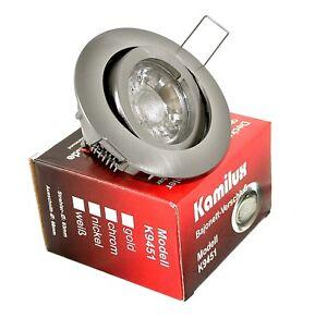 LED Lampe Einbaustrahler Bajo 3W 5W 7W Einbauleuchte Deckenleuchte Strahler
