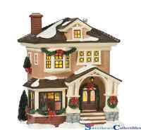 Department 56 Original Snow Village Christmas At Grandma's Lit House Gifts and Collectibles