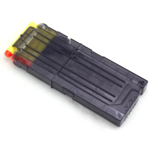 12 Darts Bullets Magazine Clip System for Nerf N-strike Elite Toy Gun Cleare LA