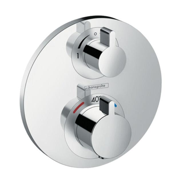Hansgrohe Ecostat S Thermostatic Shower Mixer 15758000   eBay