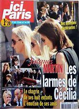 2007: Obsèques JACQUES MARTIN_GOLDMAN_ROCH VOISINE_JULIEN DORE_SEBASTIEN CHABAL